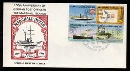 MARSHALL ISLANDS - MAJURO / 1989 ENVELOPPE FDC (ref 7965c) - Marshall
