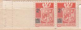 ALGÉRIE N° 197 2F S 5F ROUGE ORANGE BLASON D'ORAN  2 DÉFORMÉ NEUF SANS CHARNIERE - Algeria (1924-1962)