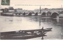58 - LA CHARITE SUR LOIRE : Une Vue De La Loire - Le Pont - CPA - Nièvre - La Charité Sur Loire