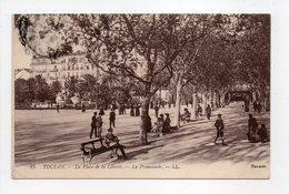 - CPA TOULON (83) - La Place De La Liberté 1915 - La Promenade - Editions Lévy N° 25 - - Toulon
