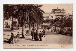 - CPA TOULON (83) - La Place De La Liberté - Les Palmiers (belle Animation) - Editions Lévy N° 23 - - Toulon