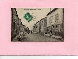 Carte Postale - SOMMEPY - D51 - Rue Du Clichet Et La Poste - France