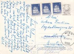 ROMANA 1977 - Ganzsache + 3x1 L Auf Ak TIMISDARA - Briefe U. Dokumente