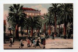 - CPA TOULON (83) - Place De La Liberté - Les Palmiers (belle Animation) - Edition GENSOLEN N° 62 - - Toulon
