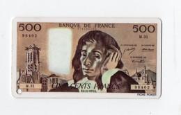 Reproduction (plastique Imprimé) D'un Billet De 500f RECTO VERSO (PPP16563) - Autres