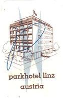ETIQUETA DE HOTEL  - PARKHOTEL LINZ  -AUSTRIA    -AUSTRIA - Etiquetas De Hotel