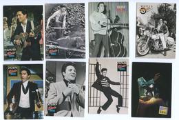 ELVIS PRESLEY - LOT DE 94 Fiches / Images + 1 JEU DE 54 CARTES - Merchandising