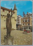 NL.- ZIERIKZEE. Gedenkteken Watersnoodramp 1 Februari 1953 - Sculpturen