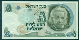 Israel 5 Lira 1968 Unc - Israel