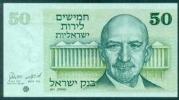 Israel 50 Lira 1973 Unc - Israel