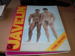 Gay Javelin  A Target Publication 51 Pages Gay Gay Porno - Books, Magazines, Comics