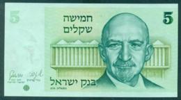 Israel 5 Shekel 19678 Unc - Israel