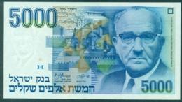Israel 5000 Shekel 1984 Unc - Israel