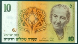 Israel 10 New Shekel 1992 Unc - Israel