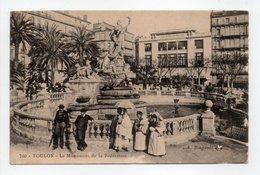 - CPA TOULON (83) - Le Monument De La Fédération 1905 (belle Animation) - Edition A. Bougault 760 - - Toulon