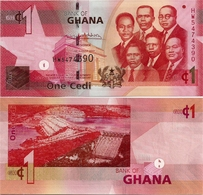 GHANA       1 Cedi       P-37[g]       4.8.2017       UNC - Ghana