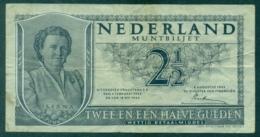 Nederland 2 1/2 Gulden 1949 Circ - [2] 1815-… : Royaume Des Pays-Bas