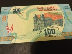 Madagascar NLP 100 Ariary 2017 Unc. - Madagascar