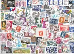 T VRAC - France  2000 Timbres TOUS DIFFÉRENTS - Stamps