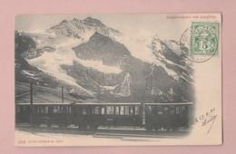 AK BE Jungfraubahn Mit Zug Ges Wengernalp-Scheidegg 19.08.1904 Photoglob #459 - BE Berne