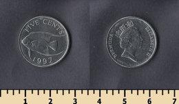 Bermuda 5 Cents 1997 - Bermudes