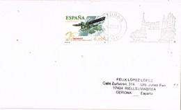 31045. Carta ASTORGA (Leon) 2002. Monumentos Año GAUDÍ - 1931-Hoy: 2ª República - ... Juan Carlos I