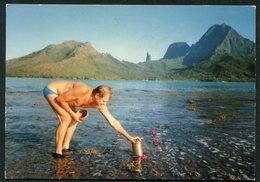CLUB NEUDIN-LE 24 SEPTEMBRE 1989 AU LARGE DE MUROA BERNARD DISPERSE LES CENDRES DE CLAUDE -CORRESPONDANCE DE G. NEUDIN - Polinesia Francese