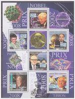 0716 Comores 2009 Nobel Pricewinners Laureaten 2008 S/S MNH - Nobelprijs