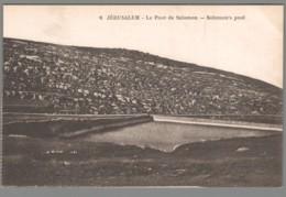 CPA Proche-Orient - Jérusalem - Le Pont De Salomon - Postcards
