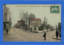 93 SEINE SAINT DENIS - NEUILLY PLAISANCE Avenue De La Station, Toilée Couleur (voir Descriptif) - Neuilly Plaisance