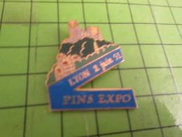 718B Pins Pin's / Rare & Belle Qualité THEME VILLES / LYON PINS EXPO 2 JUIN 1991 - Cities