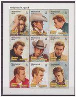 0728 Momtserrat 1997 Hollywood Actors James Dean Car S/S MNH - Acteurs