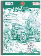 99 TARGA FLORIO FOLDER FILATELICO FDC ED.LIM. BUGATTI TRIBUTE DIVO RRR - Automobilismo