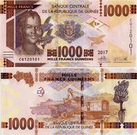 GUINEA      1000 Francs      P-48[b]      2017      UNC - Guinée