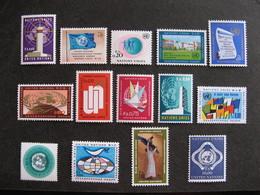 O.N.U. Office De Genève: Série N° 1 Au N°14, Neufs XX. - Nuevos