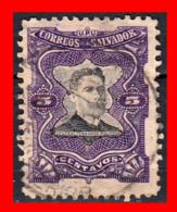 EL SALVADOR AÑO 1910.. 5 CENTAVOS. FERNANDO FIGUEROA - El Salvador