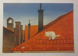 Katze, Maus, Dach,   1980, Maria De Posz ♥  - Kinder