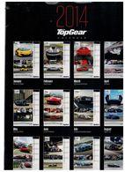 Calendario 2014 Top Gear Bbc - Calendari