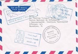 31053. Carta Aerea SAN JOSE (Costa Rica) 1983. Port Payé. Ministerio Trabajo. Official - Costa Rica