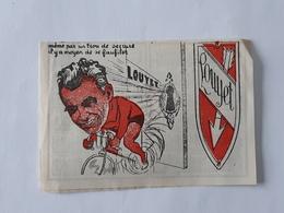 Ancien Calendrier De 1948 Avec Le Cycliste Léon Louyet - Wielrenner - Cyclisme - Vélo .... NA. - Cyclisme