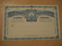 3 Centavos UPU Carte Postale Postal Stationery Card HONDURAS - Honduras