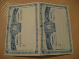 3 + 3 Centavos Avec + Pour Response UPU Carte Postale Doble Postal Stationery Card HONDURAS - Honduras