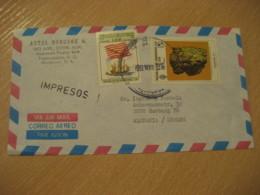 TEGUCIGALPA 1992 To Hamburg Germany 2 Stamp USA Bicentennial Archeology Cancel Air Mail Cover HONDURAS - Honduras