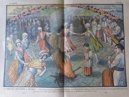 Revue Le Pèlerin ANTIBES Fête Du Printemps Galoubet Tambour Tambourin Félibre Traditions Costumes - 1900 - 1949