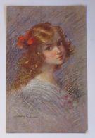 """Künstlerkarte, Kinder, Mode"" 1917, Sidoli,  Künstler Aus Italien ♥  - Kinder"