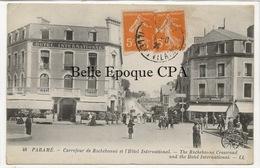 35 - PARAMÉ - Carrefour De Rochebonne Et Hôtel Internation ++++ LL, #48 ++++ 1925 - Parame