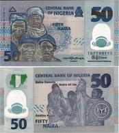 NIGERIA       50 Naira       P-40[h]       2018       UNC - Nigeria