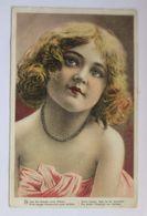 """""""Kinder, Mode, Schmuck, Kette"""" 1911, Prägekarte  ♥  - Kinder"""