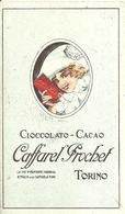 """2139 """" CAFFAREL PROCHET - TORINO - CIOCCOLATO CACAO -LISTA DELLE SPECIALITA' DELLA CASA """" ORIGINALE - Altre Collezioni"""