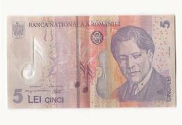 Billet 5 Lei Roumanie - Rumania